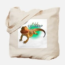 Bearded Dragon Got Crickets 5 Tote Bag