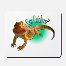 Bearded Dragon Got Crickets 5 Mousepad