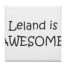 Cute Leland Tile Coaster