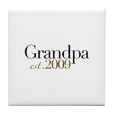 New Grandpa 2009 Tile Coaster