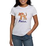 Vintage Distressed Cartoon Ki Women's T-Shirt