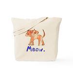 Vintage Distressed Cartoon Ki Tote Bag