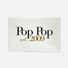 New Pop Pop 2009 Rectangle Magnet