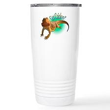 Bearded Dragon Got Crickets 5 Ceramic Travel Mug