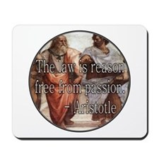 The Law Is Mousepad