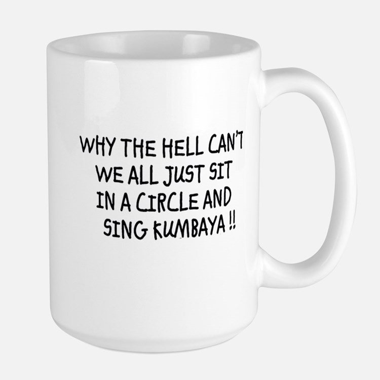 kumbaya clean Mugs