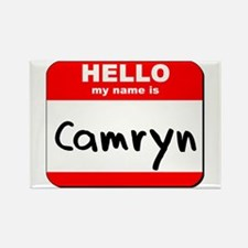 Hello my name is Camryn Rectangle Magnet