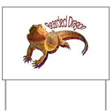 Bearded Dragon III Yard Sign