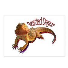 Bearded Dragon III Postcards (Package of 8)