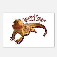 Bearded Dragon III Postcards (Package of 8)
