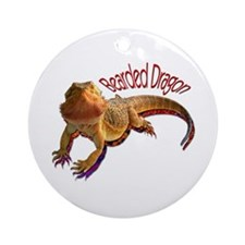 Bearded Dragon III Ornament (Round)