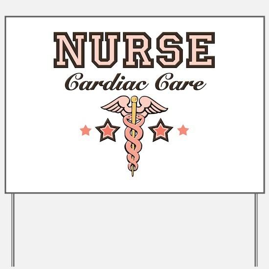 Cardiac Care CCU Nurse Yard Sign