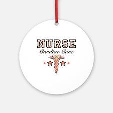 Cardiac Care CCU Nurse Ornament (Round)