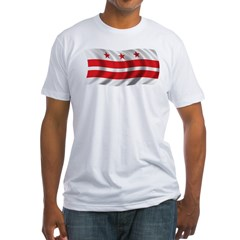 Wavy Washington DC Flag Shirt
