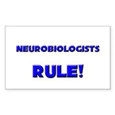 Neurobiologists Rule! Rectangle Decal
