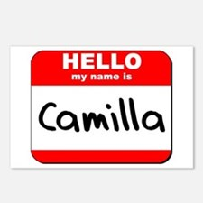 Hello my name is Camilla Postcards (Package of 8)