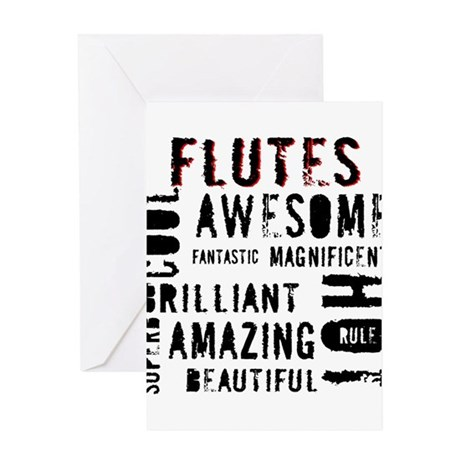 Are_Hot_Flutes copy Greeting Cards