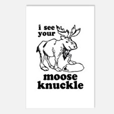 Moose Knuckle Postcards (Package of 8)