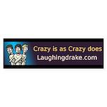 Laughing Drake Bumper Sticker (50 pk)