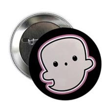 """Baby Ghost 2.25"""" Button"""