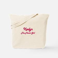 Kaelyn - Flower Girl Tote Bag