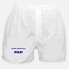Network Administrators Rule! Boxer Shorts