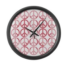 Peace on Earth Large Wall Clock
