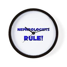 Nephrologists Rule! Wall Clock