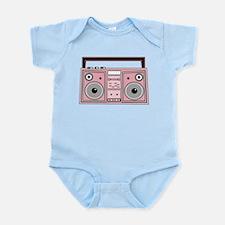 Pink Boom Box Infant Bodysuit