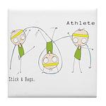 Athlete Tile Coaster