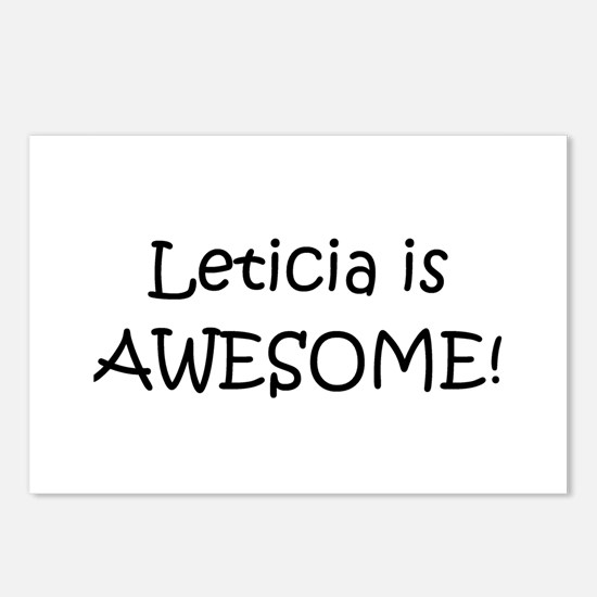 Unique Leticia Postcards (Package of 8)
