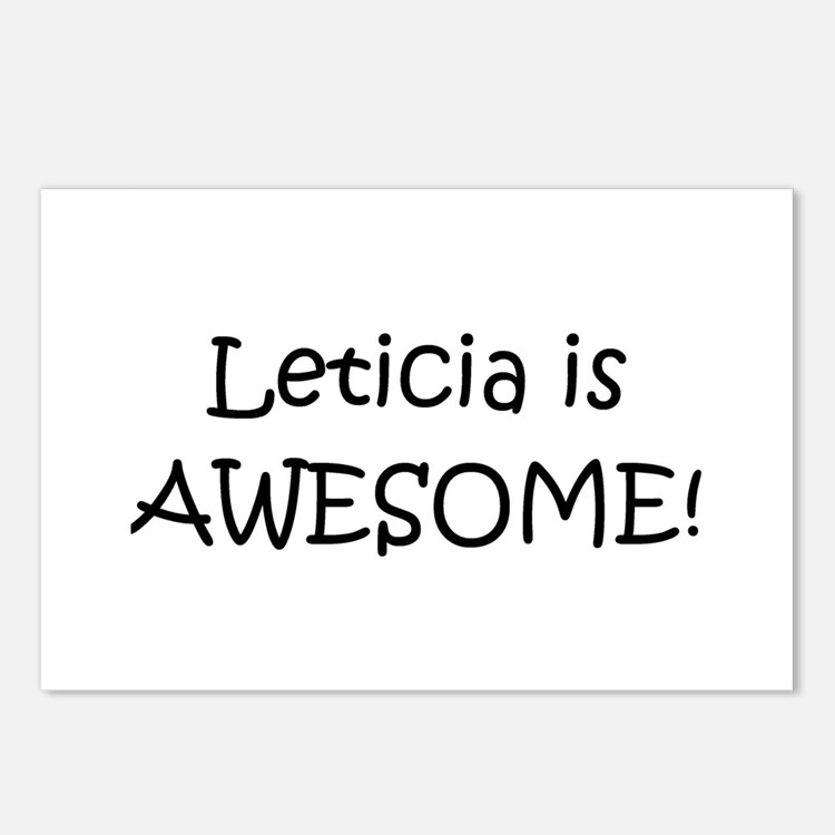 Cute Leticia Postcards (Package of 8)