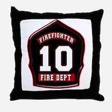 FD10 Throw Pillow
