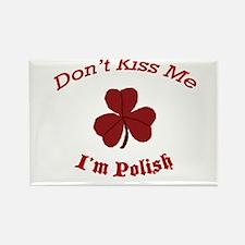 St. Patrick's Day For Us Poli Rectangle Magnet