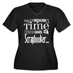 Once Upon a Time Women's Plus Size V-Neck Dark T-S