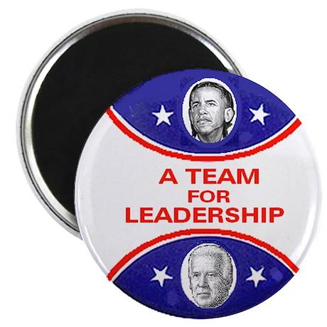 Obama Biden Leadership Magnet
