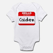 Hello my name is Caiden Infant Bodysuit