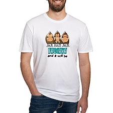 See Speak Hear No Cervical Cancer 3 Shirt