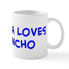 Laura Loves Sancho Mug