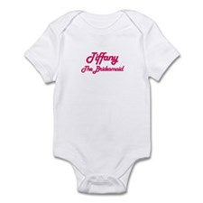 Tiffany - The Bridesmaid Infant Bodysuit