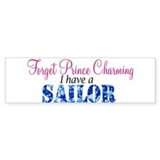 Forget Prince Charming, I hav Bumper Car Car Sticker