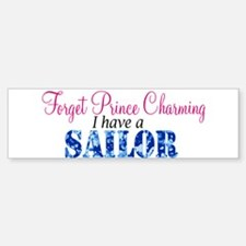 Forget Prince Charming, I hav Bumper Car Car Sticker