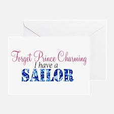 Forget Prince Charming, I hav Greeting Card