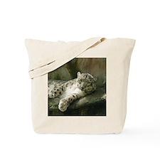 Snow Leopard B004 Tote Bag