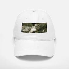 Snow Leopard B004 Baseball Baseball Cap