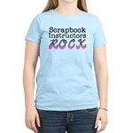Scrapbook Instructors ROCK Women's Light T-Shirt