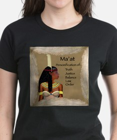 Goddess Ma'at Tee (Fitted, Dark)