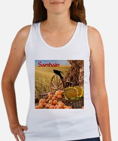 Samhain - Halloween Harvest Tank (Fitted, White)