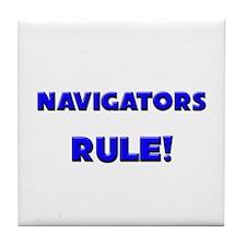 Navigators Rule! Tile Coaster