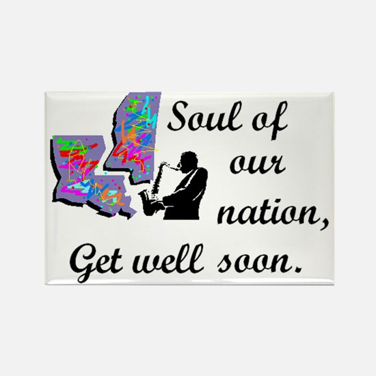 Soul of our Nation, Rectangle Magnet